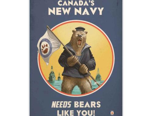 Bears Invade: Canada's New Navy