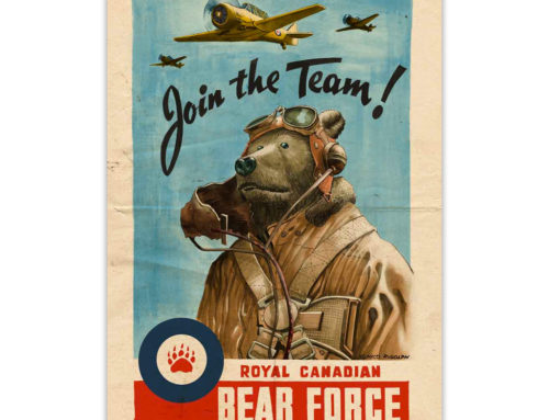 Bears Invade: Royal Canadian Bear Force