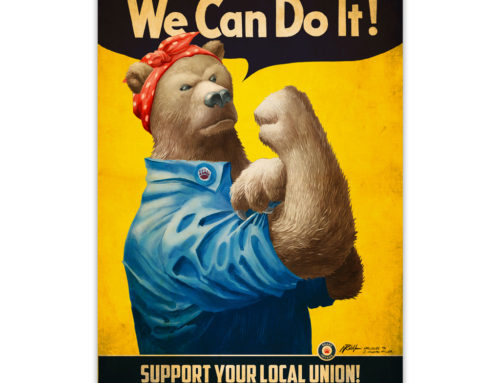 Bears Invade: We Can Do It!