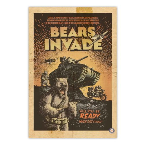 bears-invade-when-they-strike-vintage-ad-print-poster