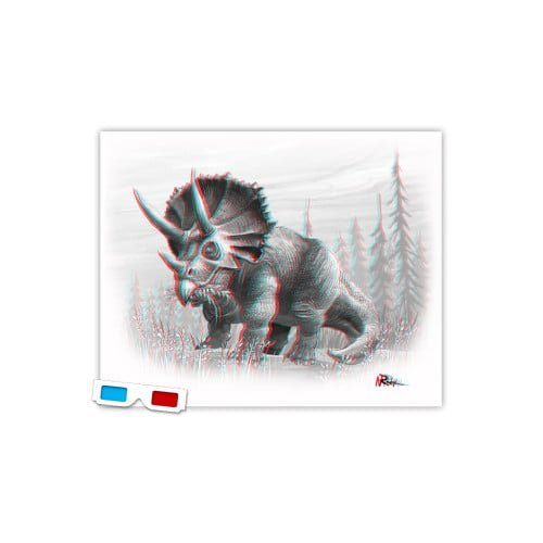 3d-triceratops-dinosaur-anaglyph-glasses1