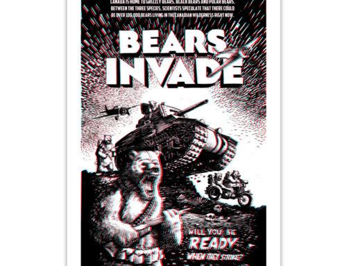 Bears Invade 3D