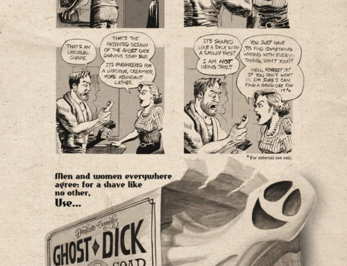 Ghost Dick Shaving Soap